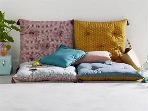 textiles deco en couleurs osez le melange joli place With déco chambre bébé pas cher avec matelas sciatique