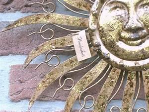 Wanddeko Für Den Garten : sonne wanddeko wandbild metall garten deko h nger bild ~ A.2002-acura-tl-radio.info Haus und Dekorationen