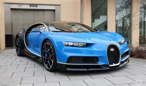 """The following chiron is being sold by st. Blue Bugatti Chiron is available for """"nominal"""" amount of $3.8 million - Drivers Magazine"""