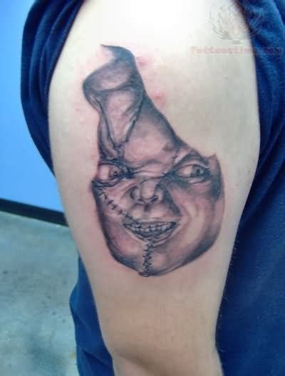chucky tattoo images designs