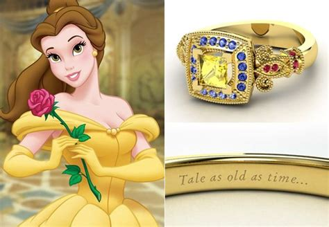 Disney Engagement Rings From Gemvara