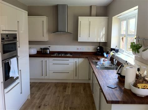 b q kitchen tiles ideas oak cabinets walnut floor another b q kitchen with