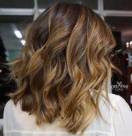 Golden Brown Hair with Caramel Highlights