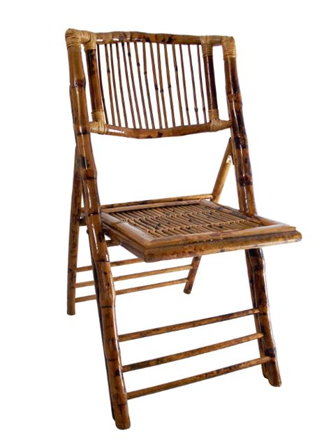 bamboo folding chair this is media g k event rentals