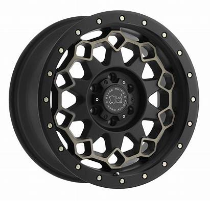 Wheels Truck Rhino Diamante Rims Introduces Dark