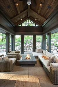45, Amazingly, Cozy, And, Relaxing, Screened, Porch, Design, Ideas