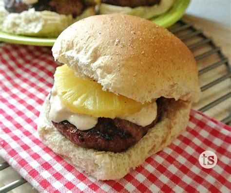 le berger recipe 99 sweet chipotle pineapple burgers tastefully simple