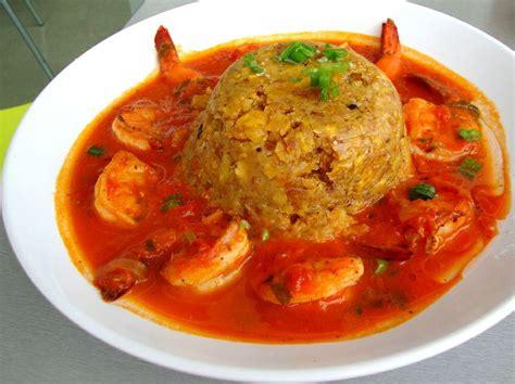 mofongo recipe puerto rican food shrimp mofongo pork banana and garlic baked to a crisp in a shrimp sauce