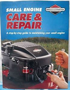 Briggs  U0026 Stratton Small Engine Care And Repair