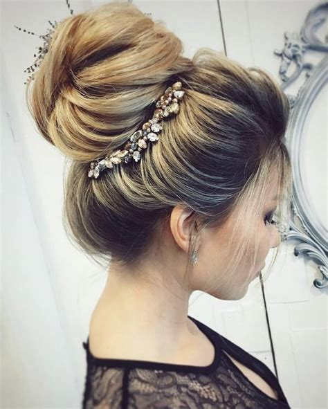 Hairstyles Updos by 30 Chic Wedding Hair Updos For Brides Deer Pearl