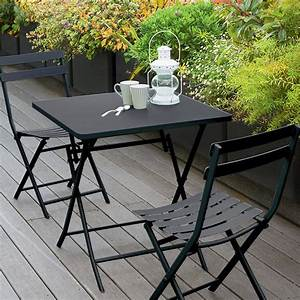 Table De Balcon Pliante : table de balcon pliante carr e greensboro graphite hesp ride 2 places ~ Teatrodelosmanantiales.com Idées de Décoration