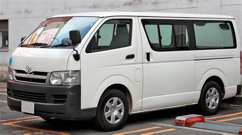Toyota Hiace Wallpapers by White Cars Vehicle Toyota Hiace Wallpaper 104139