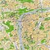 Seoul tv channel: Map of Prague, Czech Republic
