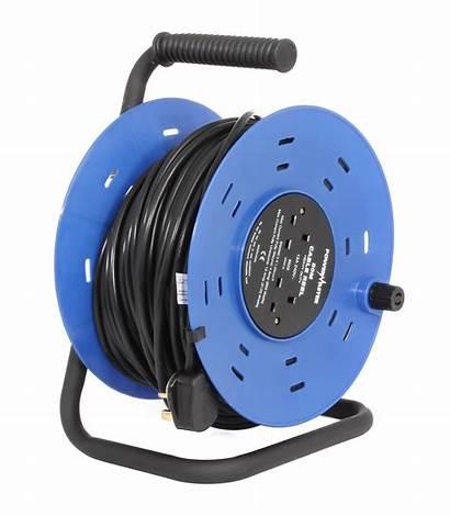 Reel Cable 50m Powermaster Extension Reels Open