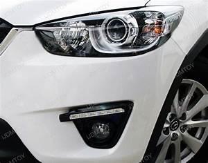 2016 Mazda Cx 5 Daytime Running Light Replacement Direct Fit Mazda Cx 5 6 Led High Power Led Daytime Running