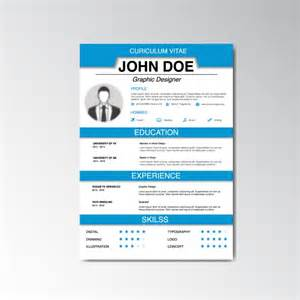 free professional resume templates downloads curriculum vitae design vector free download