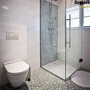 Carreaux de mosaïque mix de couleurs pour espace de douche design