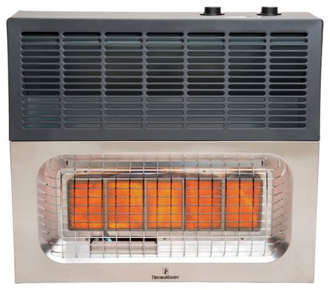 thermablaster vent free wall heater 25 000 btu infrared