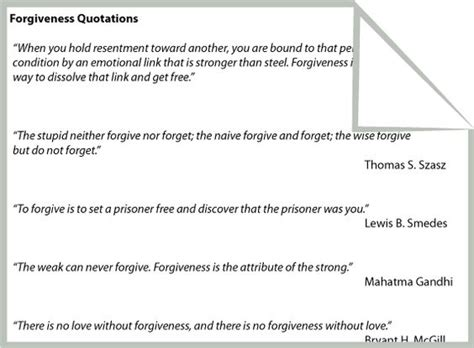 forgiveness quotations worksheet therapy