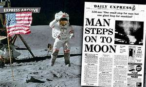 Man's first steps on the Moon and how the Daily Express ...