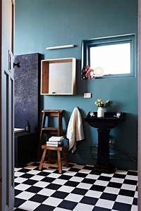 Déco Salle De Bain Noir Et Blanc : id e d coration salle de bain salle de bain noir et blanc leading ~ Melissatoandfro.com Idées de Décoration