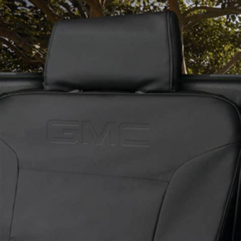 acadia denali protective seat cover jet black