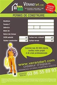 Panneau De Permis De Construire : panneau de chantier impression personnalis e de ~ Dailycaller-alerts.com Idées de Décoration