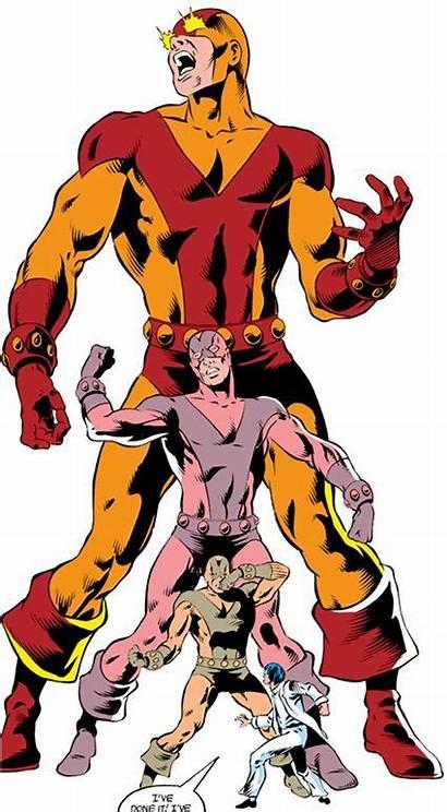 Marvel Goliath Comics Josten Avengers Villain Erik