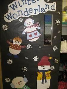 Winter Door Decorations