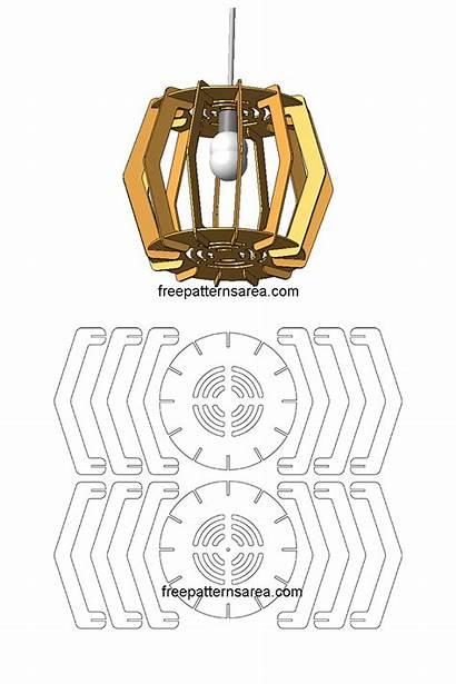Laser Cut Wood Chandelier Lamp Freepatternsarea Wooden