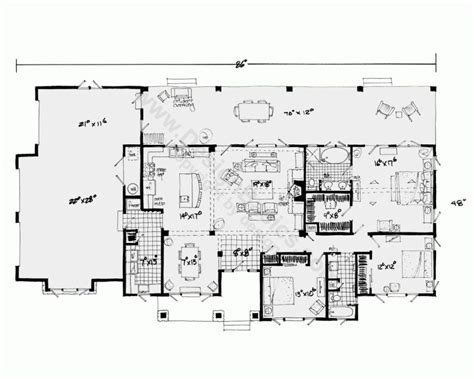 house plans one one house plans with open floor plans design