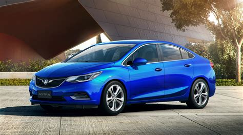 New Holden Astra Sedan Is No Opel In Drag, But a Chevrolet ...