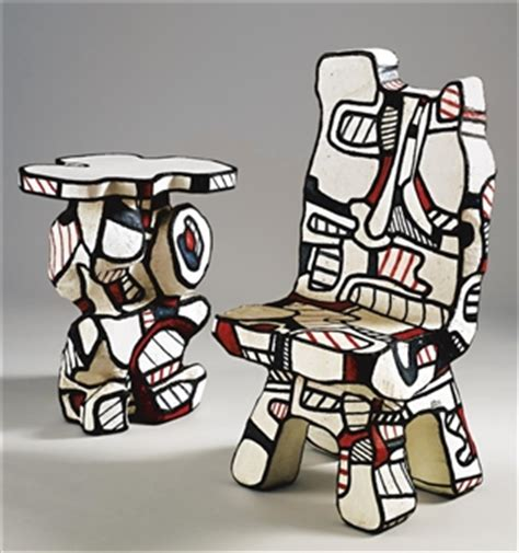chaises de cing artworks of jean dubuffet 1901 1985