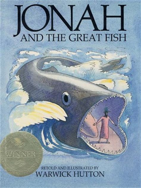 jonah   great fish  warwick hutton