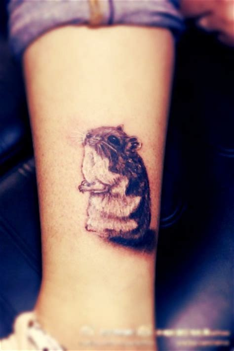 amazing hamster tattoos collection