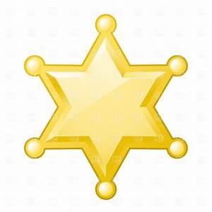 Deputy Star Clipart