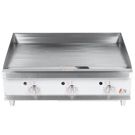 Countertop Griddle Gas - cooking performance g36t 36 quot gas countertop griddle