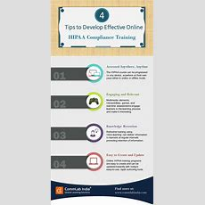 4 Tips To Develop Effective Online Hipaa Compliance Training [infographic]