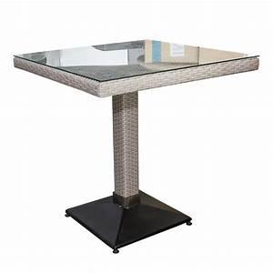 Polyrattan Tisch Höhenverstellbar : polyrattan tisch verona 70x70 outdoor tische outdoor ingastro online shop ~ Eleganceandgraceweddings.com Haus und Dekorationen
