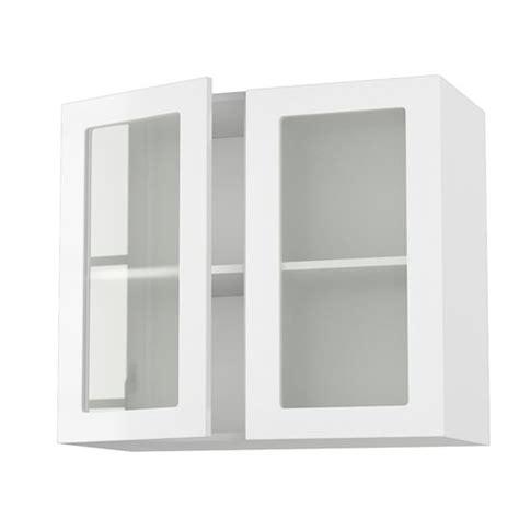 meuble mural cuisine meuble cuisine mural 80cm 2 portes vitrees 40 7 achat vente éléments haut meuble cuisine