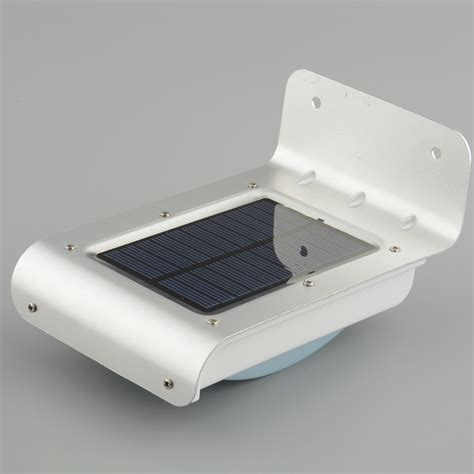 solar 16 led motion sensor detector waterproof l
