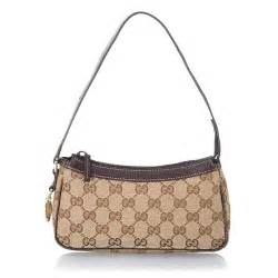 Gucci Small Fabric Shoulder Bag