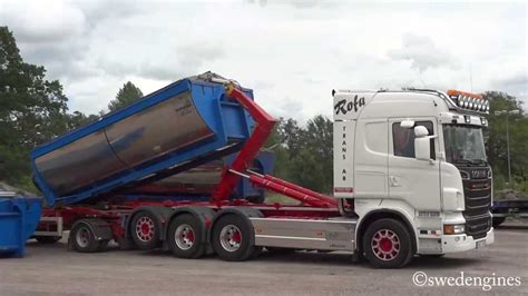 scania   load exchanger youtube