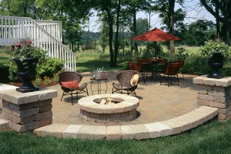 Patios, Backyard And Fire Pit
