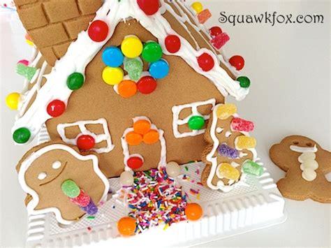gingerbread house squawkfox