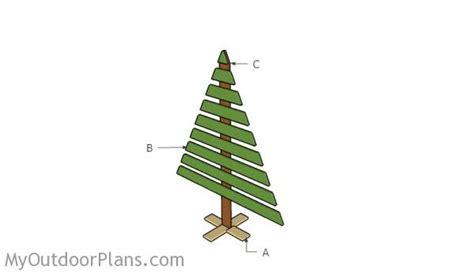 wood christmas tree plans myoutdoorplans