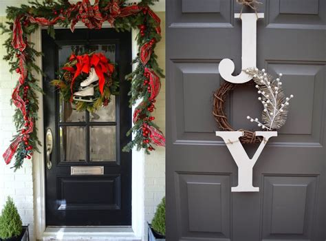 37 Beautiful Christmas Front Door Decor Ideas Lucan Fireplaces Windsor Majestic Direct Vent Gas Fireplace Red Brick Makeover Ideas Halloween Convert Wood To Insert Mantel Paint Valve Replacement