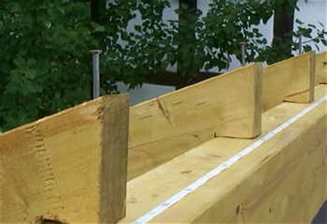 terrassenüberdachung an dachsparren befestigen sparren terrassendach