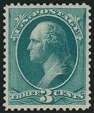 George Washington 3 Cent Stamp Value
