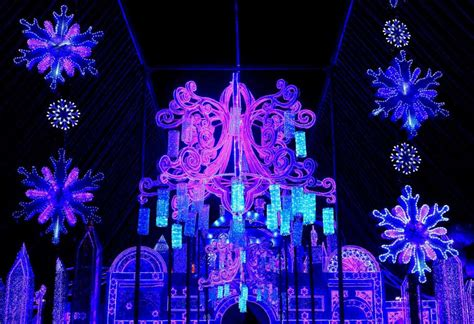 an outdoor lantern festival aims to entertain this holiday